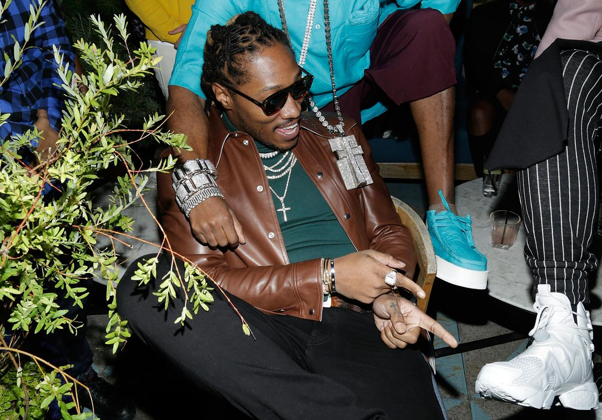 Rapper Future attends the Flaunt and Reebok 'The Eternal Issue' celebration hosted by Future at Sixty Hotel Soho on September 8, 2017 in New York City.
