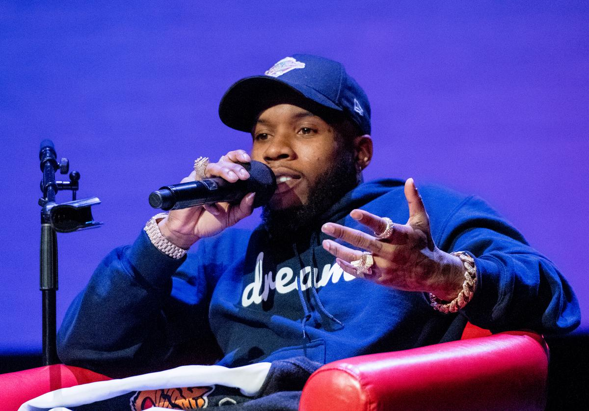 Tory Lanez discusses his creative process during BMI's How I Wrote That Song 2018 on January 27, 2018 in New York City.