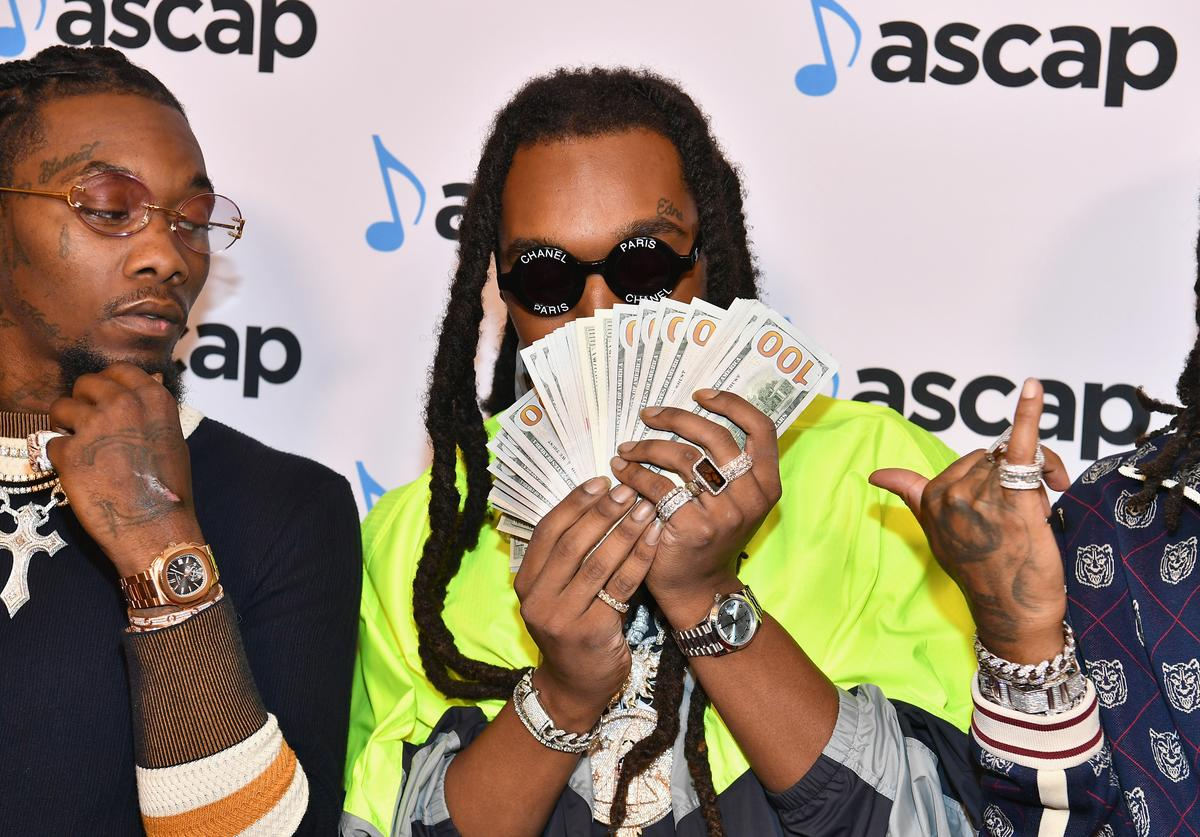 Offset and Takeoff of Migos attend the 31st Annual ASCAP Rhythm & Soul Music Awards at the Beverly Wilshire Four Seasons Hotel on June 21, 2018 in Beverly Hills, California