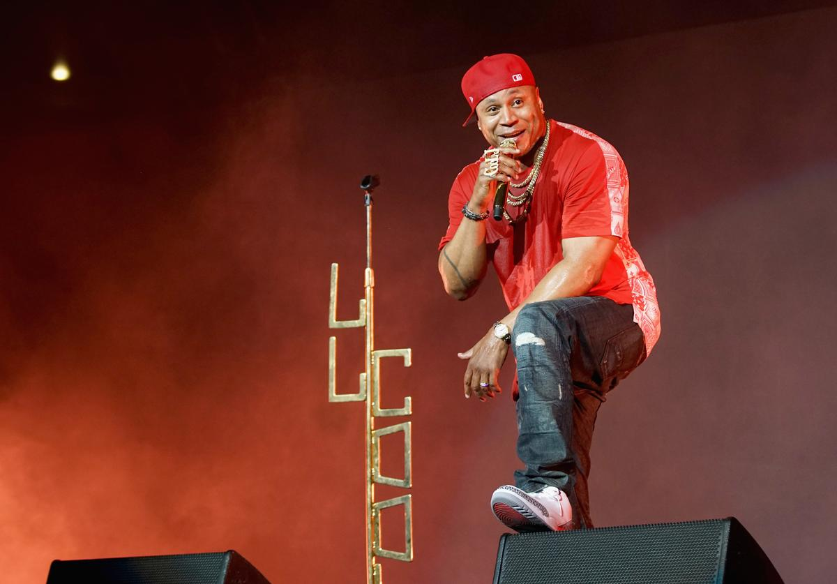 LL Cool J performs at BET Jams Presents: 2018 BET Experience Staples Center Concert, sponsored by Nissan, at L.A. Live on June 21, 2018 in Los Angeles, California.