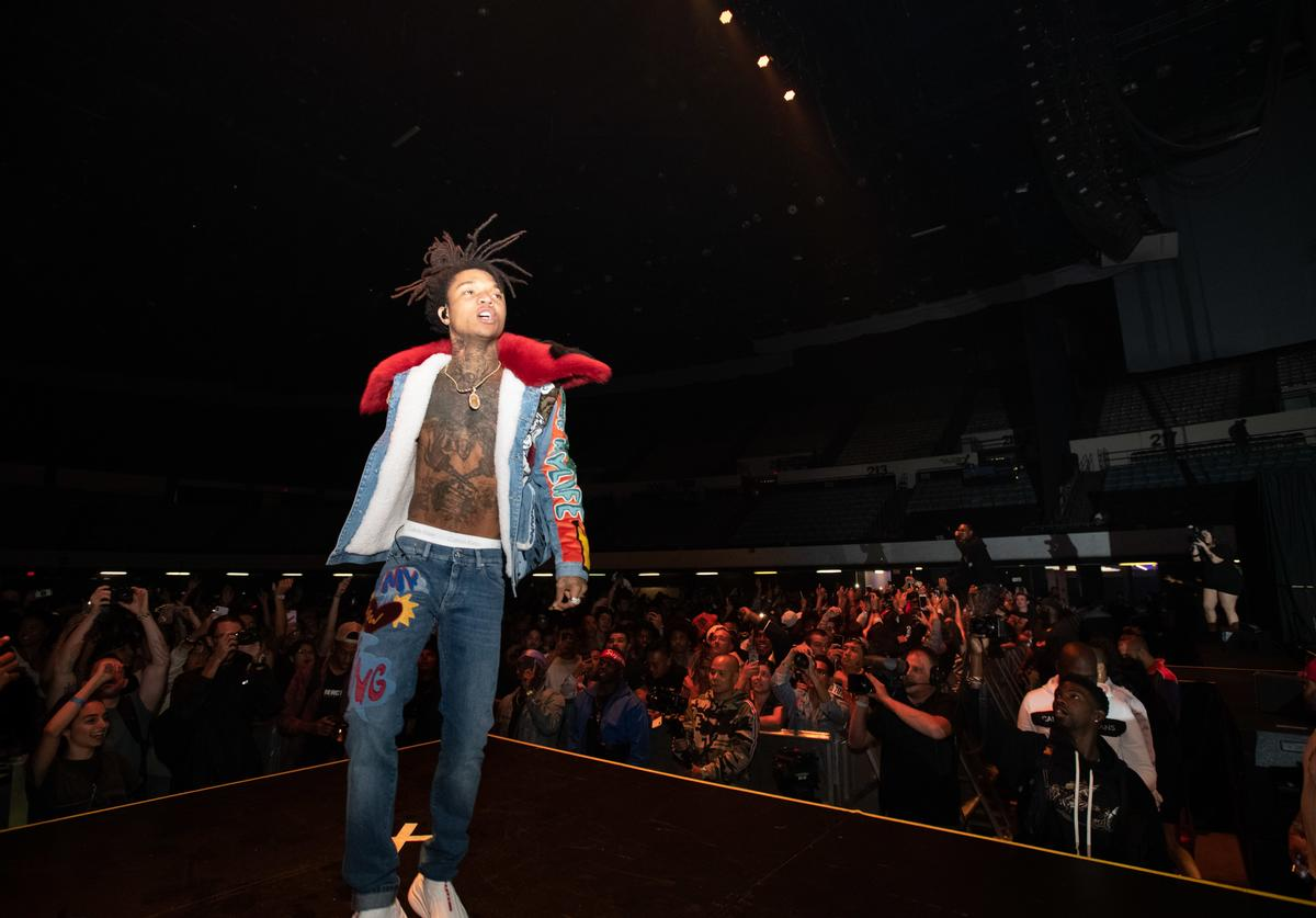 Swae Lee of the Hip Hop duo Rae Sremmurd performs onstage at the 2018 ComplexCon-Day 1 at Long Beach Convention Center on November 3, 2018 in Long Beach, California
