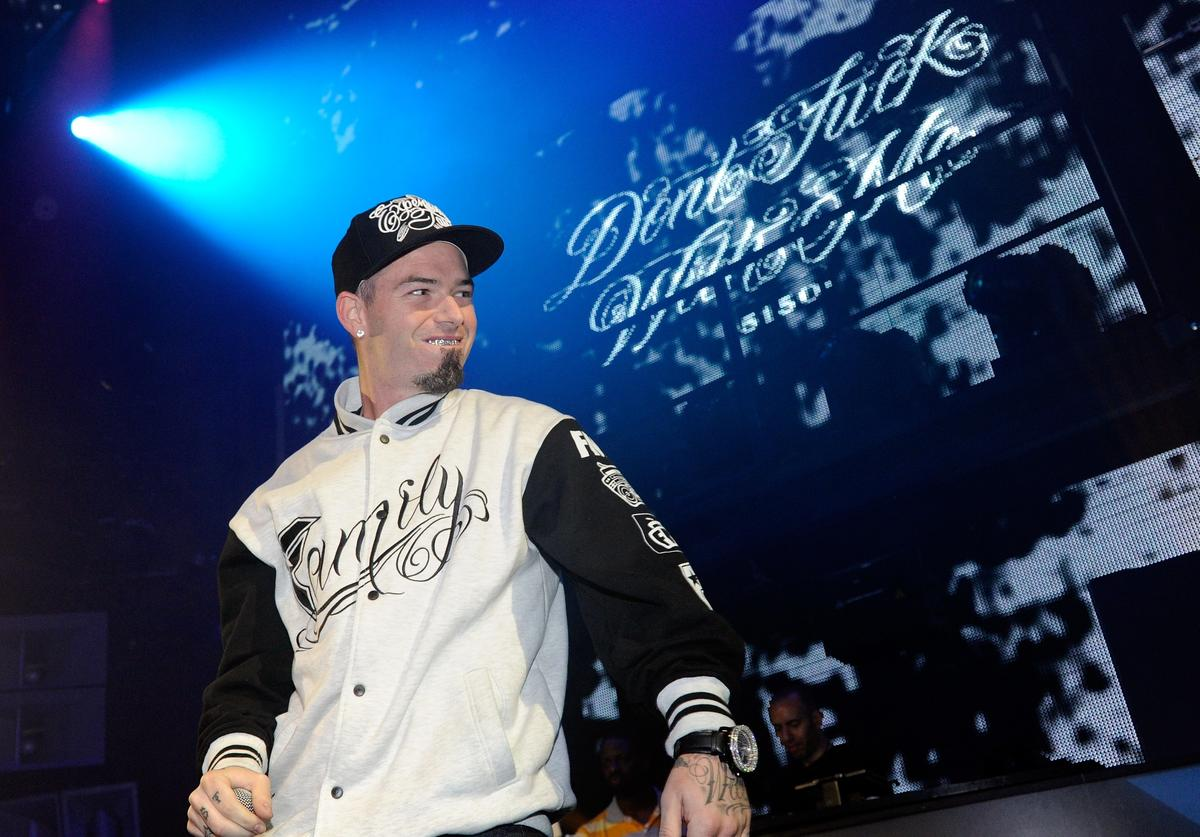 Paul Wall performs at the BACARDI 'Like It Live' Las Vegas event with Cee Lo Green, Travis Barker and Mix Master Mike at the Marquee Nightclub at The Cosmopolitan of Las Vegas June 15, 2011 in Las Vegas, Nevada