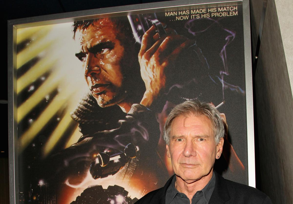 Actor Harrison Ford attends 'Blade Runner' at Target Presents AFI's Night at the Movies at ArcLight Cinemas on April 24, 2013 in Hollywood, California.