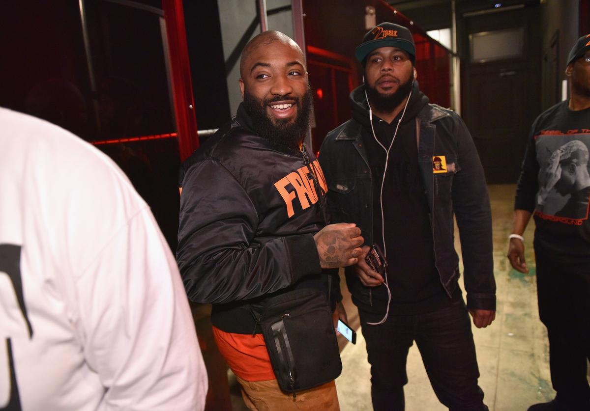 A$ap Bari attends Tupac's Powamekka Cafe and Tupac by Vlone store opening on April 7, 2017 in New York City.