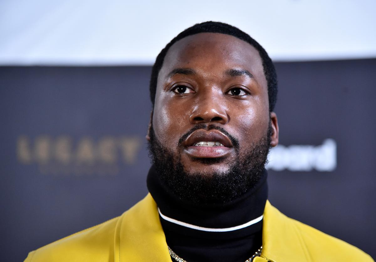 Rapper Meek Mill attends the Billboard 2018 R&B Hip-Hop Power Players event at Legacy Records on September 27, 2018 in New York City.