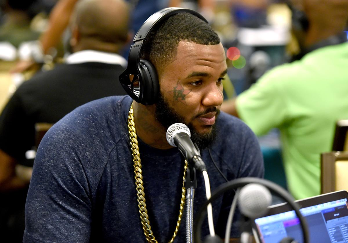 Rapper The Game attends day 1 of the Radio Broadcast Center during the BET Awards '14 on June 27, 2014 in Los Angeles, California.