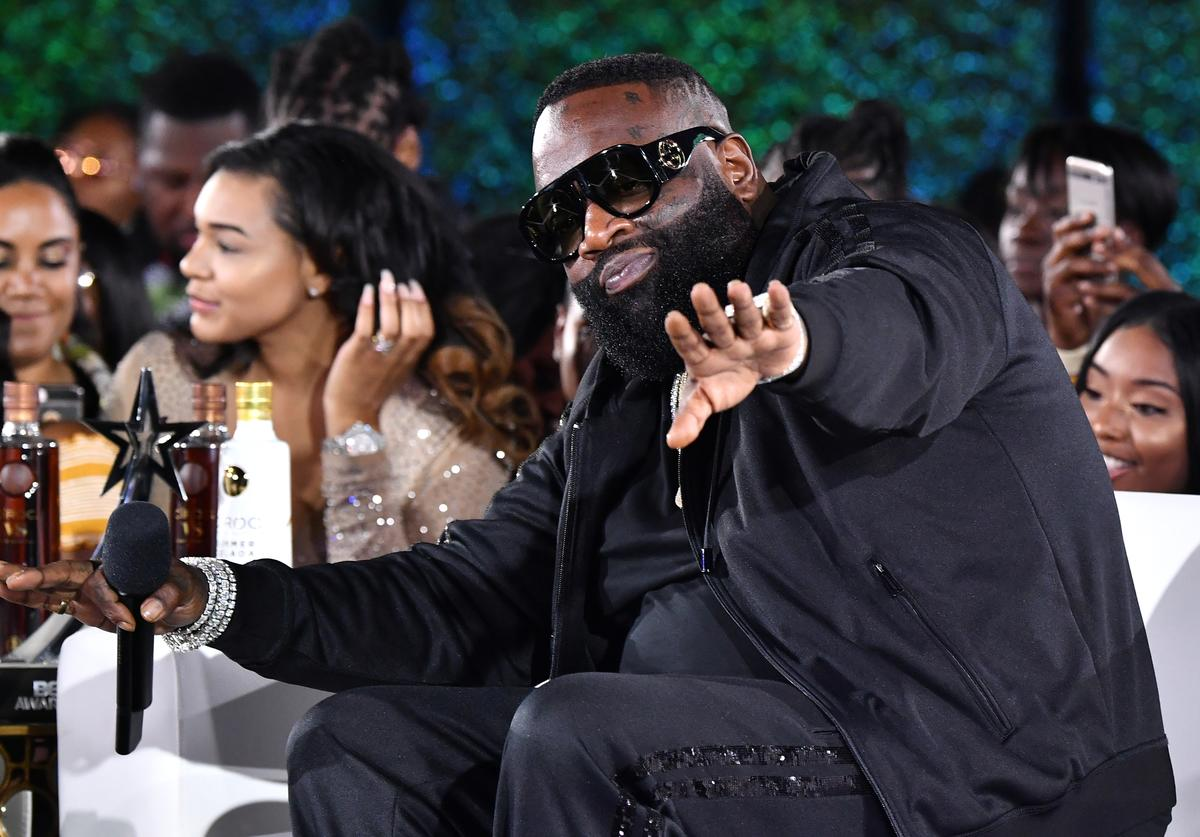 Rick Ross attends the After Party Live, sponsored by Ciroc, at the 2018 BET Awards Post Show at Microsoft Theater on June 24, 2018 in Los Angeles, California
