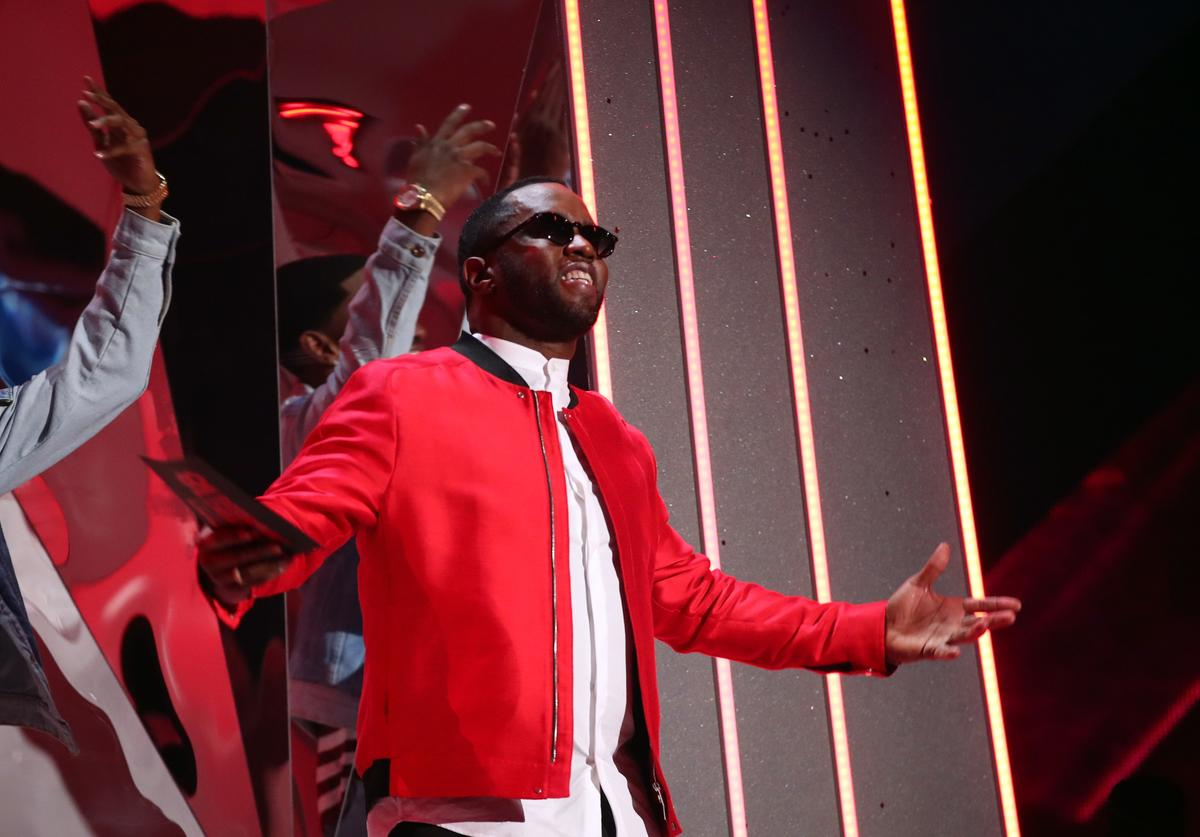 Sean 'Diddy' Combs onstage during the 2018 iHeartRadio Music Awards which broadcasted live on TBS, TNT, and truTV at The Forum on March 11, 2018 in Inglewood, California.