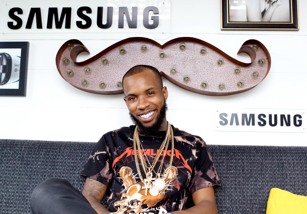Tory Lanez is seen at the Samsung Creator's Lab at Lollapalooza 2016 - Day 3 at Grant Park on July 30, 2016 in Chicago, Illinois