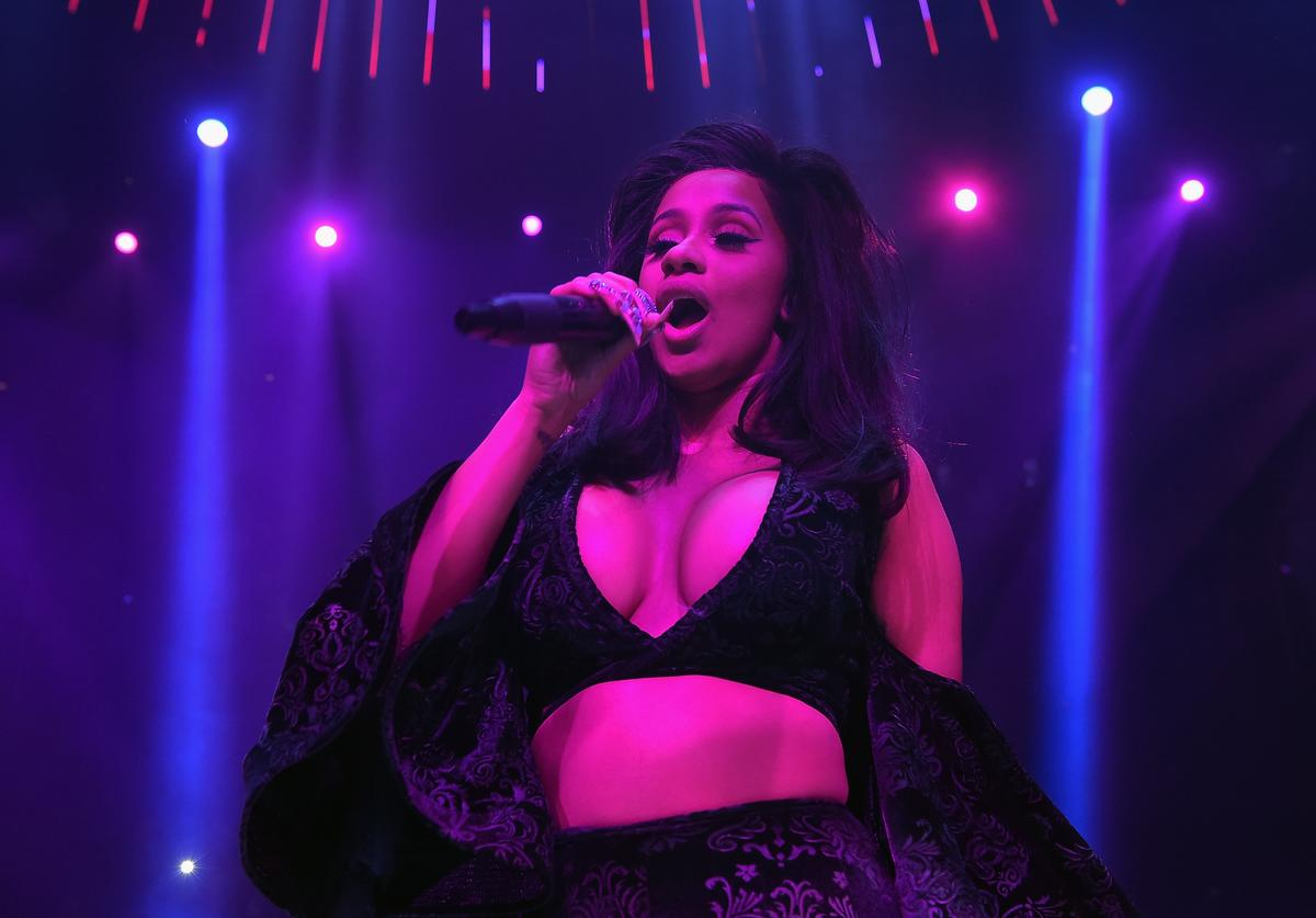 Cardi B performs at E11EVEN on November 22, 2017 in Miami, Florida