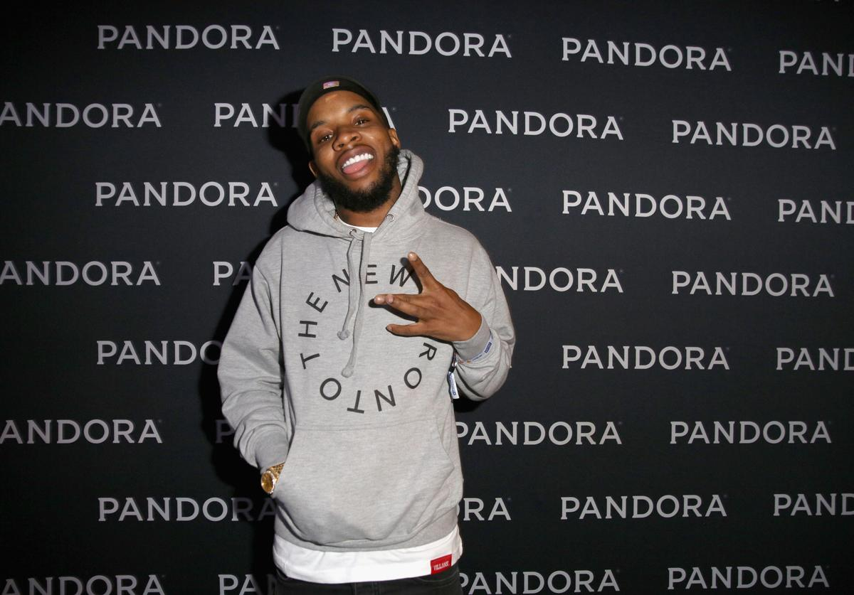 Tory Lanez attends the PANDORA Discovery Den SXSW on March 18, 2016 in Austin, Texas