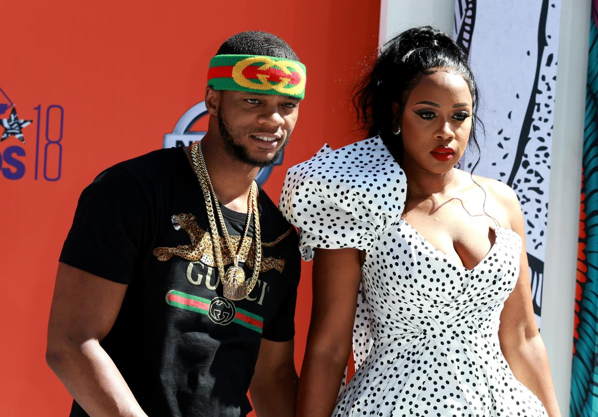 Papoose (L) and Remy Ma attend the 2018 BET Awards at Microsoft Theater on June 24, 2018 in Los Angeles, California.