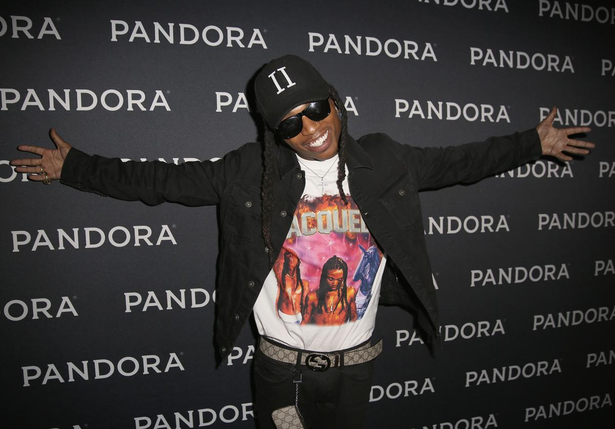 Singer Jacquees attends the PANDORA Discovery Den SXSW on March 18, 2016 in Austin, Texas.