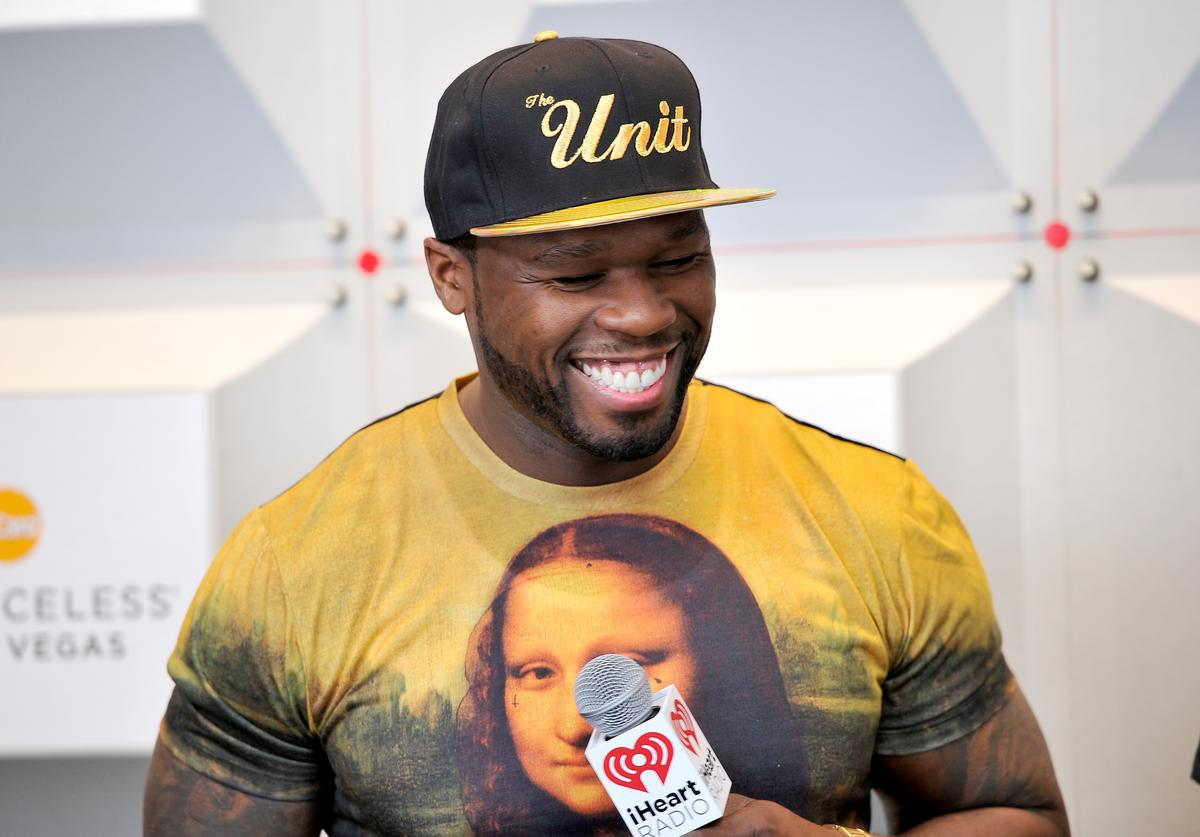 50 Cent attends the 2014 iHeartRadio Music Festival at the MGM Grand Garden Arena on September 20, 2014 in Las Vegas, Nevada