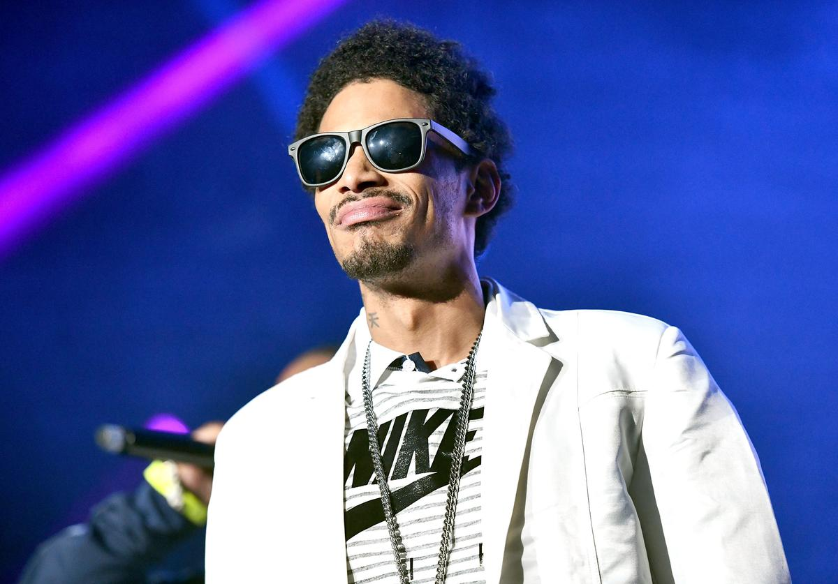 Rapper Layzie Bone of Bone Thugs-n-Harmony performs onstage during the KDay 93.5 Krush Groove concert at The Forum on April 21, 2018 in Inglewood, California.