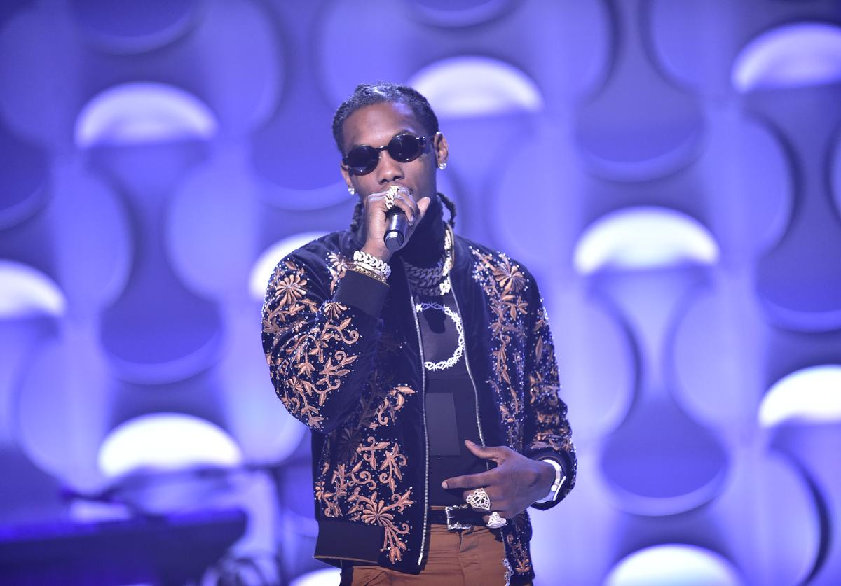 Offset attends BET her fights Breast Cancer at Riverside Epicenter on September 20, 2018 in Atlanta, Georgia