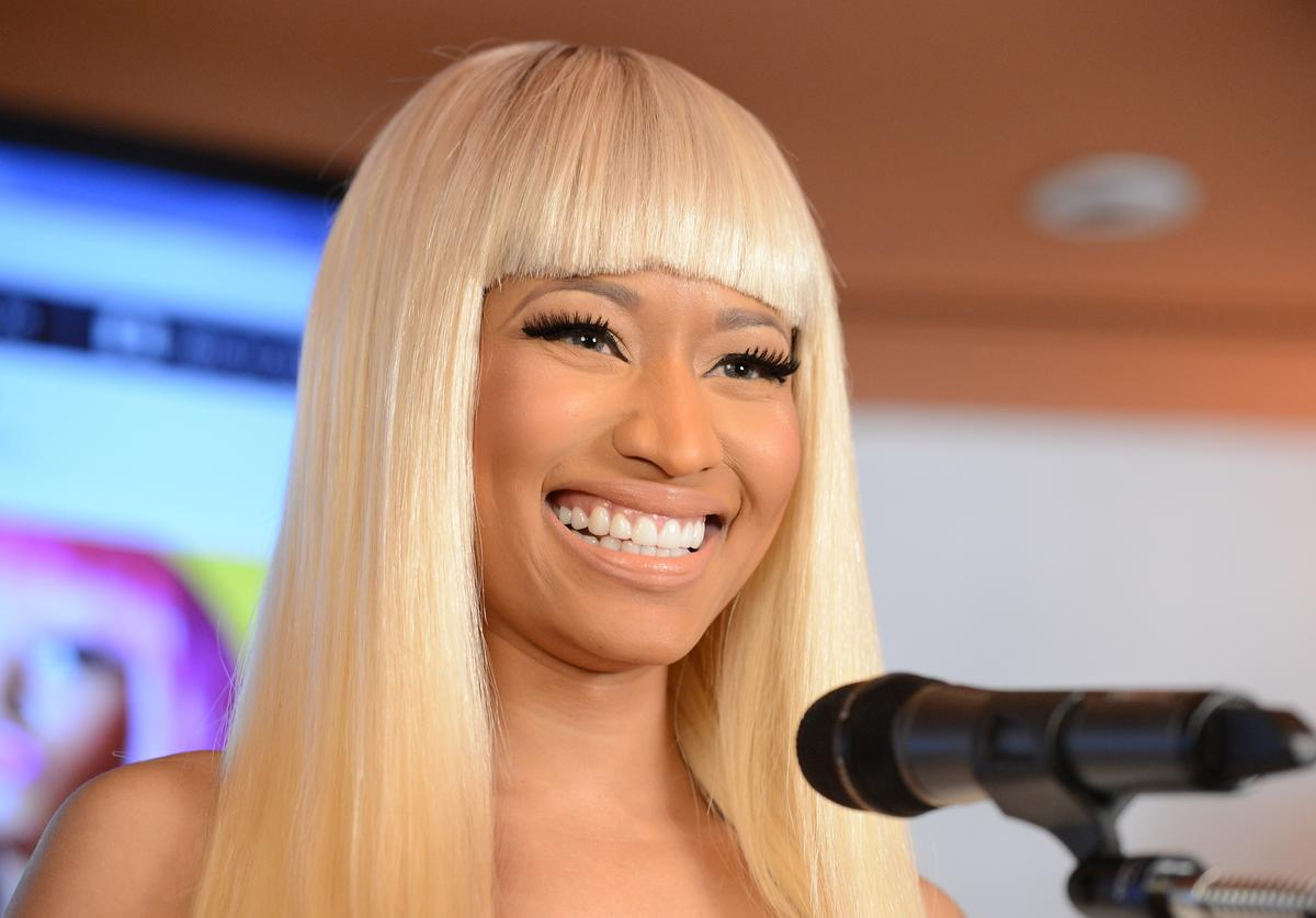 Nicki Minaj attends her Kmart collection private event at Fig & Olive Melrose Place on March 1, 2013 in West Hollywood, California