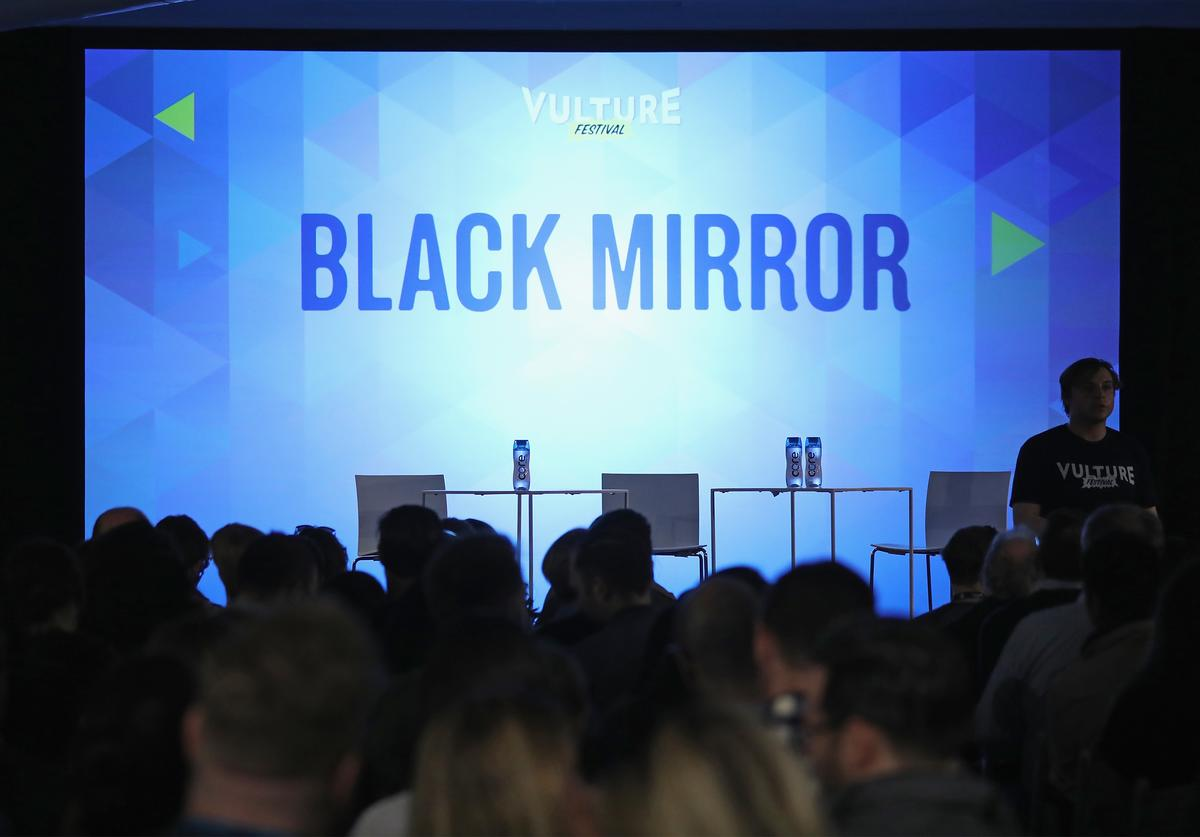 Guests fill the audience for the Black Mirror panel during the 2017 Vulture Festival at Milk Studios on May 21, 2017 in New York City