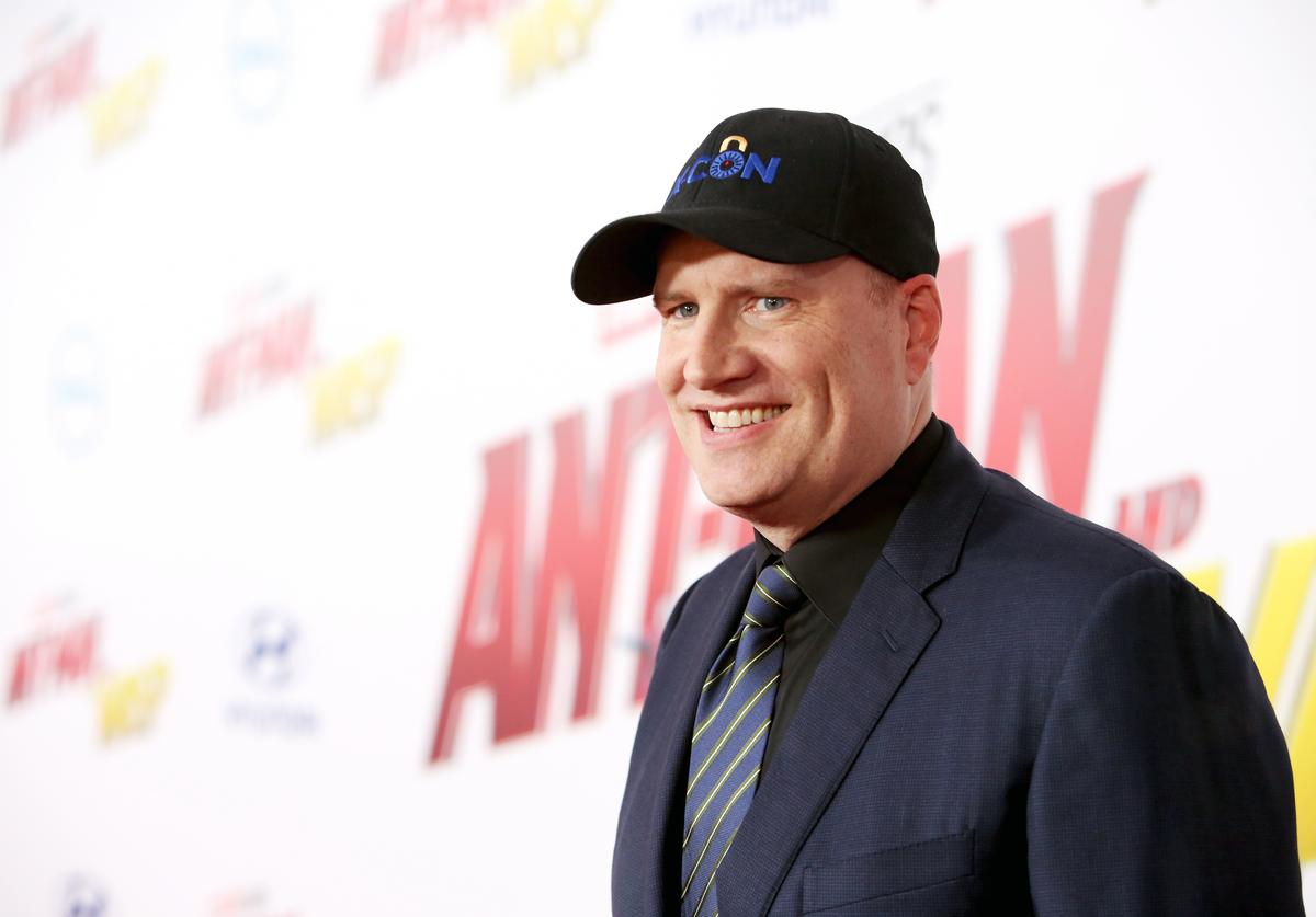 Producer Kevin Feige attends the Los Angeles Global Premiere for Marvel Studios' 'Ant-Man And The Wasp' at the El Capitan Theatre on June 25, 2018 in Hollywood, California.