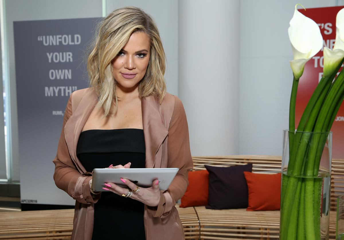 Khloe Kardashian attends Allergan KYBELLA event at IAC Building on March 3, 2016 in New York City