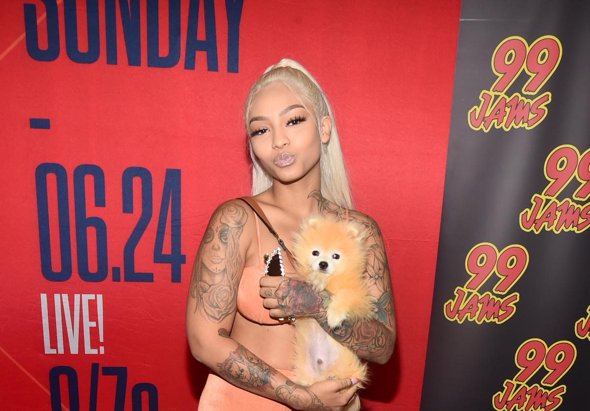 Cuban Doll attends day two of the 2018 BET Awards Radio Remotes on June 23, 2018 in Los Angeles, California