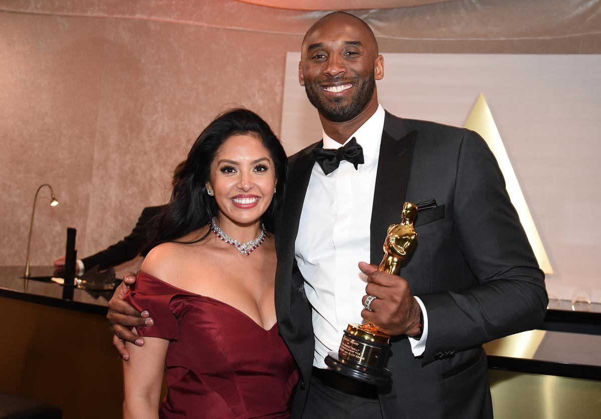Kobe Bryant (R) and Vanessa Laine Bryant attend the 90th Annual Academy Awards Governors Ball at Hollywood & Highland Center on March 4, 2018 in Hollywood, California.