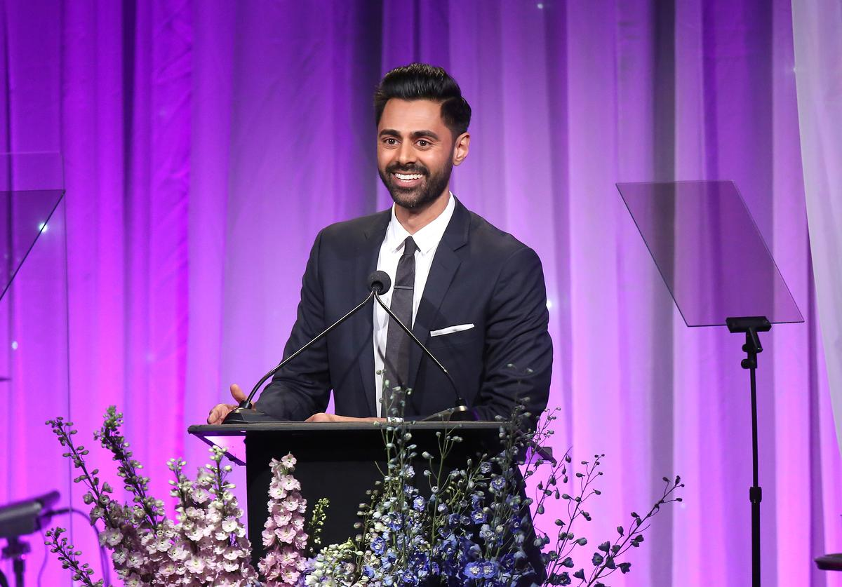 Hasan Minhaj attends Friends Of The Saban Community Clinic's 42nd Annual Gala at The Beverly Hilton Hotel on November 12, 2018 in Beverly Hills, California.
