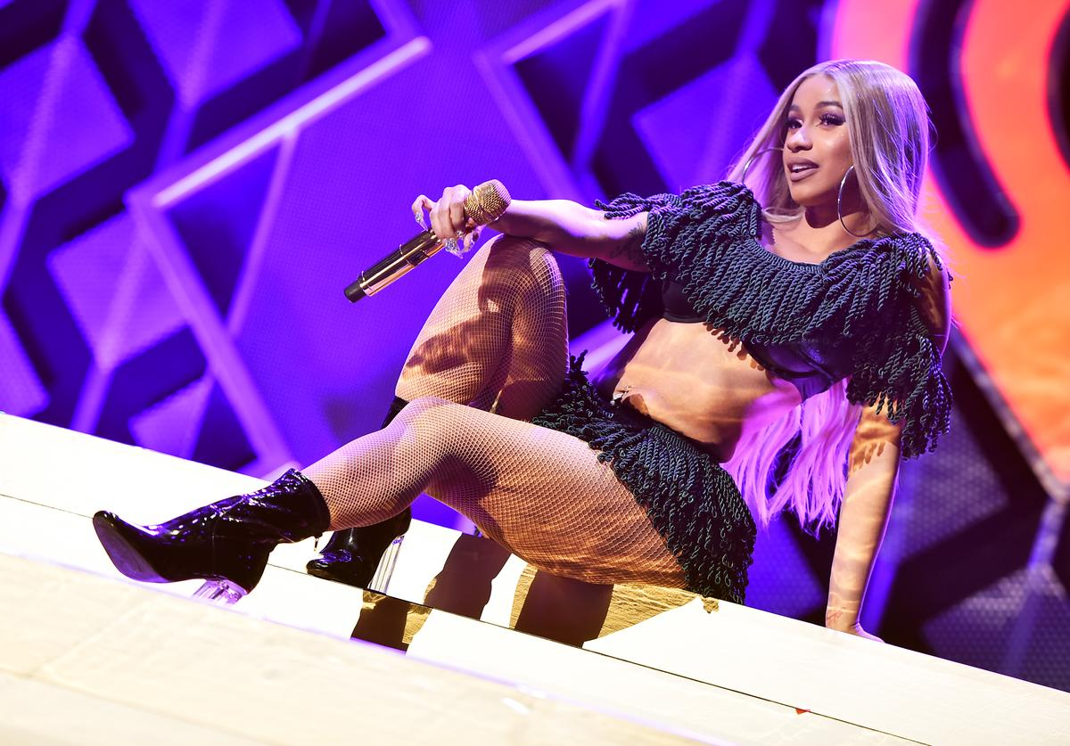 Cardi B performs at Z100's Jingle Ball 2018 at Madison Square Garden on December 7, 2018 in New York City.