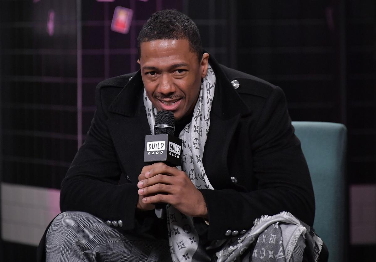 Nick Cannon visits Build to discuss the reality TV show 'The Masked Singer' at Build Studio on December 11, 2018 in New York City