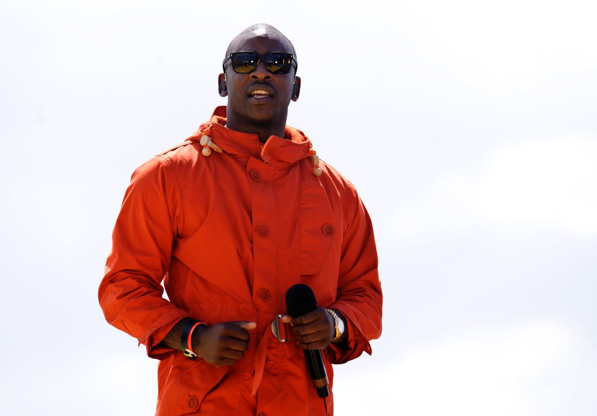 Skepta performs at T4 On The Beach on July 1, 2012 in Weston-Super-Mare, England.