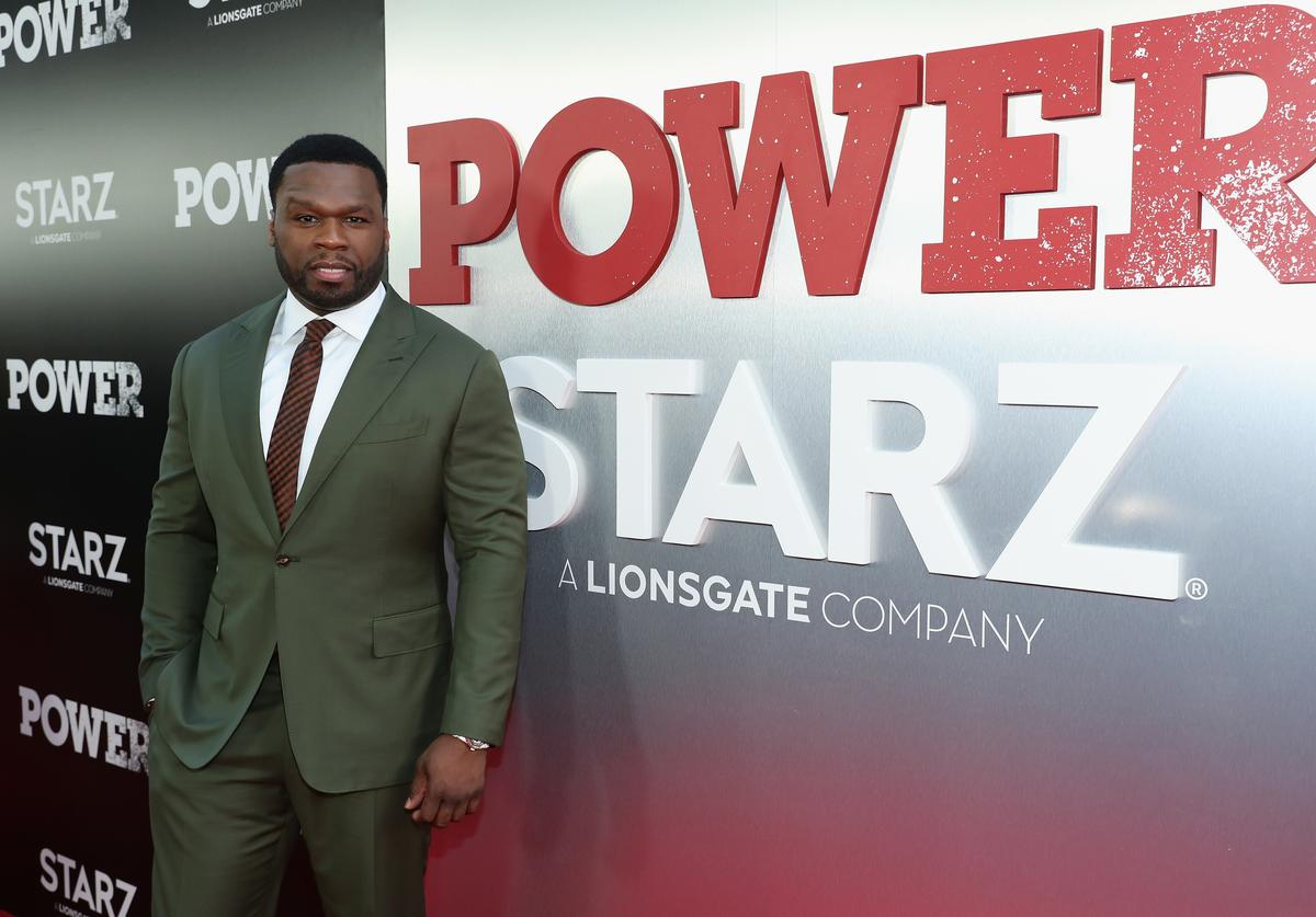 Curtis '50 cent' Jackson attends the Starz 'Power' The Fifth Season NYC Red Carpet Premiere Event & After Party on June 28, 2018 in New York City