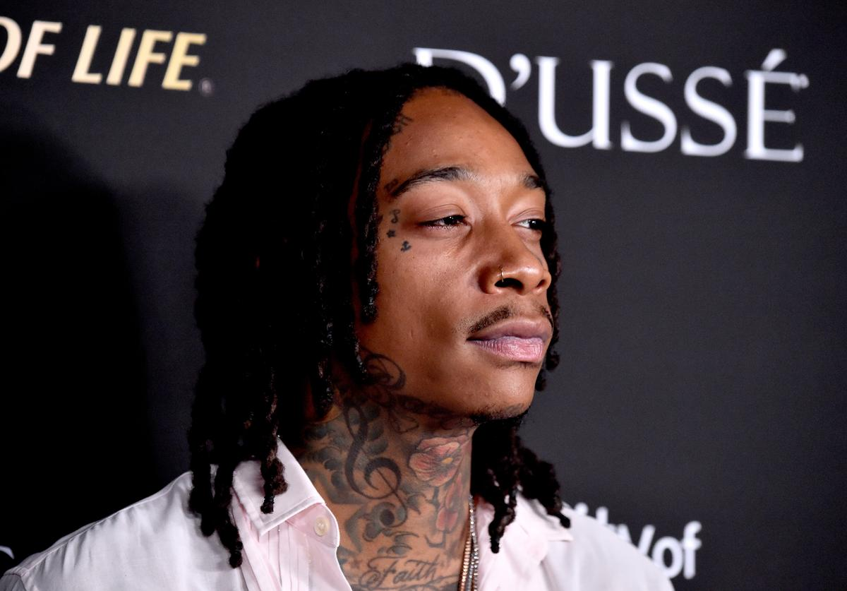 Wiz Khalifa attends the City of Hope Spirit of Life Gala 2018 at Barker Hangar on October 11, 2018 in Santa Monica, California.