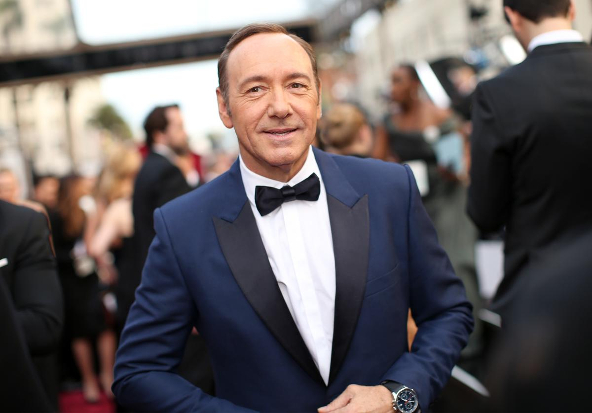 Kevin Spacey attends the Oscars held at Hollywood & Highland Center on March 2, 2014 in Hollywood, California