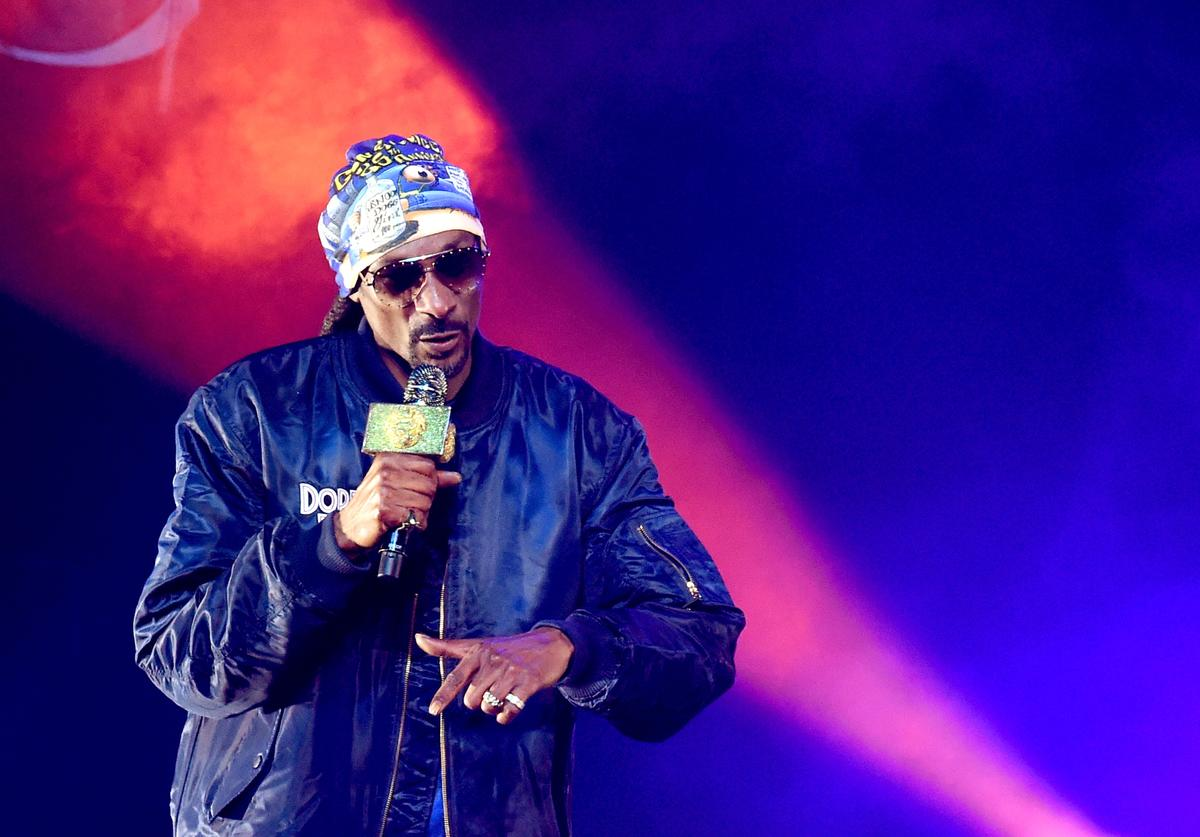 Snoop Dogg performs at the Puff Puff Pass Tour 3 at the Microsoft Theatre on December 15, 2018 in Los Angeles, California