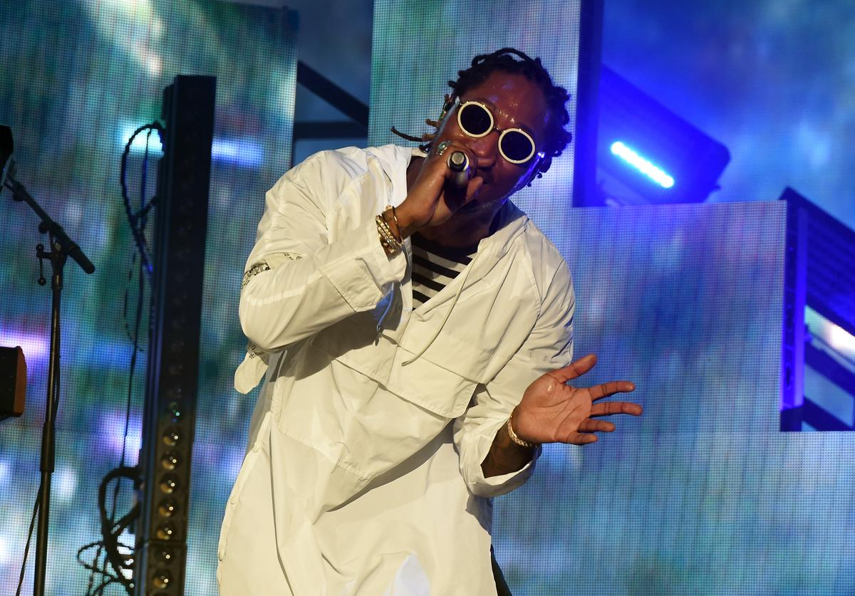 Future performs on the Coachella Stage during day 2 of the Coachella Valley Music And Arts Festival (Weekend 1) at the Empire Polo Club on April 15, 2017 in Indio, California