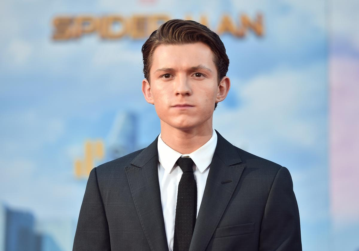 Tom Holland attends the premiere of Columbia Pictures' 'Spider-Man: Homecoming' at TCL Chinese Theatre on June 28, 2017 in Hollywood, California.