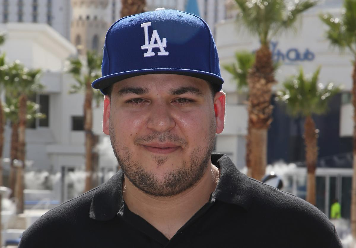 Rob Kardashian attends the Sky Beach Club at the Tropicana Las Vegas on May 28, 2016 in Las Vegas, Nevada