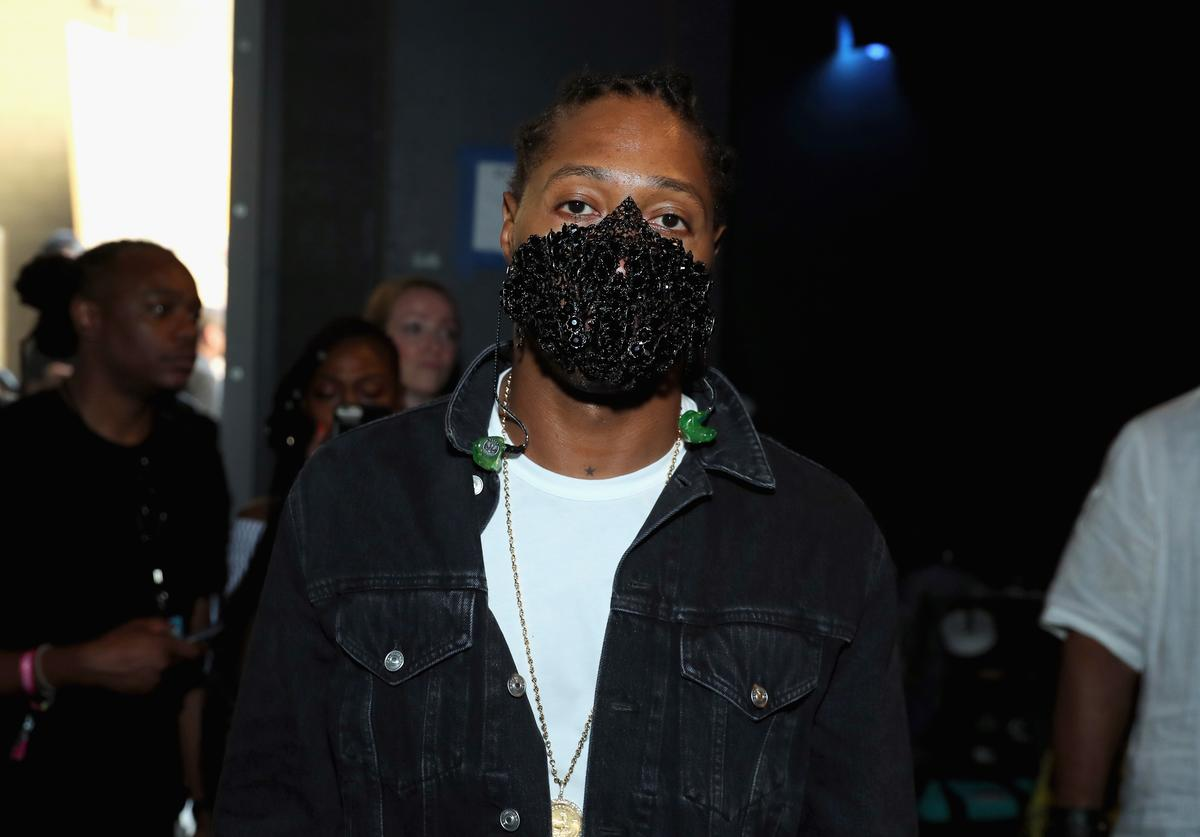 Future backstage at the 2017 BET Awards at Microsoft Theater on June 25, 2017 in Los Angeles, California