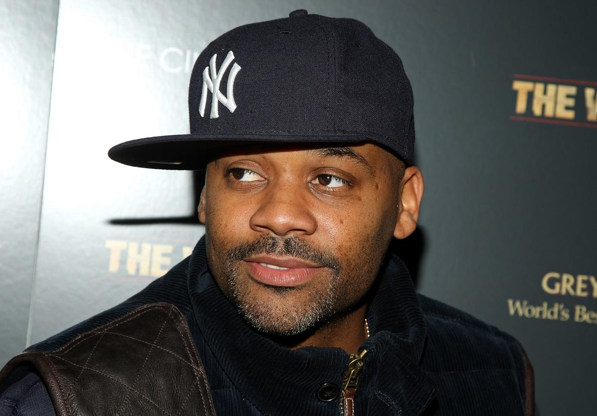 Record producer Damon Dash attends a special screening of 'The Wrestler' hosted by The Cinema Society and Entertainment Weekly at the Tribeca Grand Screening Room on December 8, 2008 in New York City.