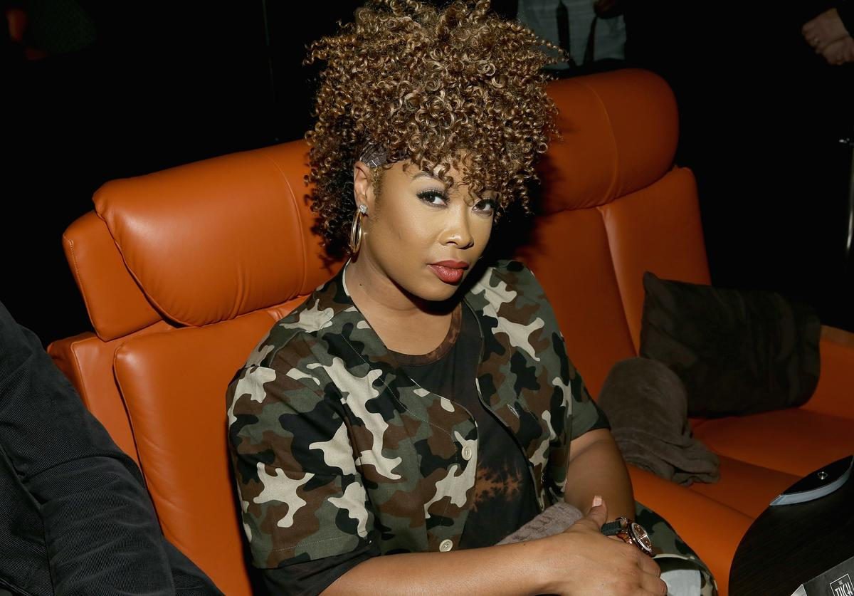 Da Brat attends the WE tv's Growing Up Hip Hop Atlanta premiere screening event on May 16, 2017 in New York City.