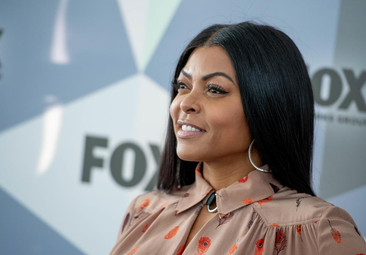 Taraji P. Henson attends the 2018 Fox Network Upfront at Wollman Rink, Central Park on May 14, 2018 in New York City.