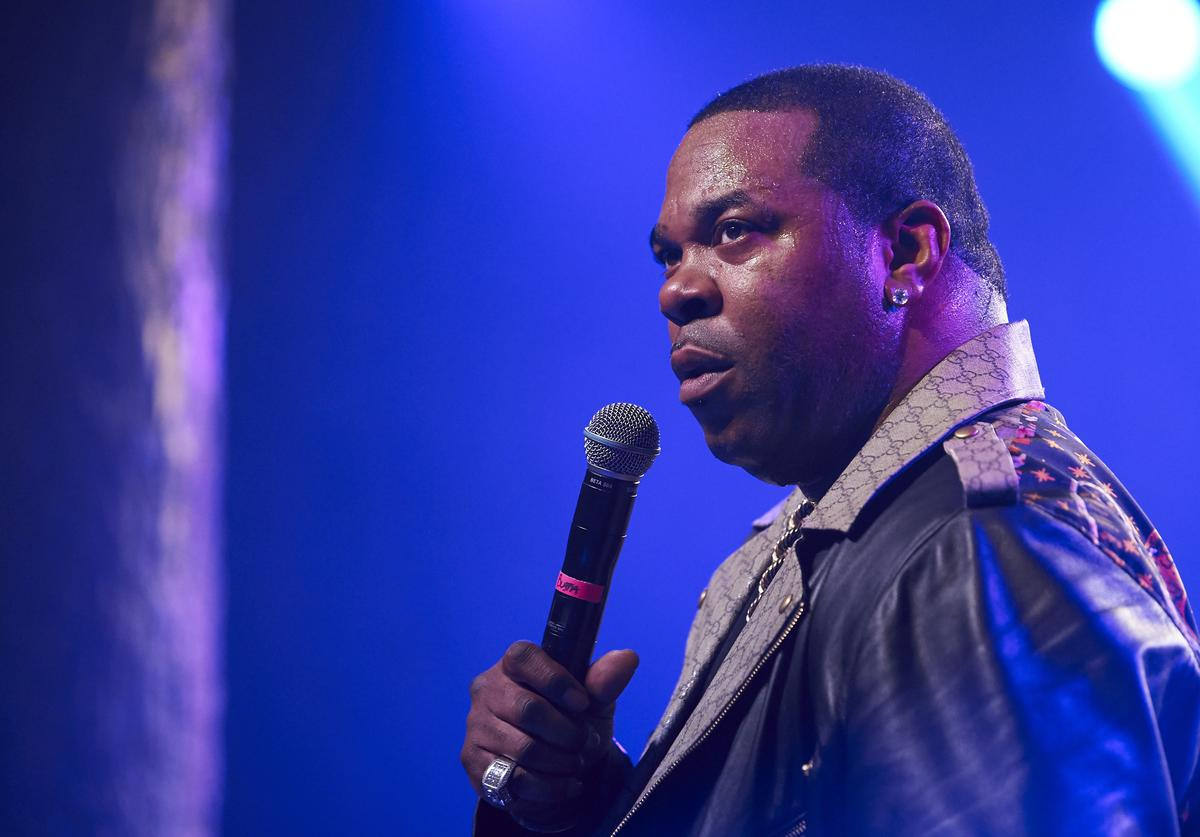 Busta Rhymes performs during the Spectrum Presents Busta Rhymes Powered By Pandora event at Trees on November 08, 2018 in Dallas, Texas.