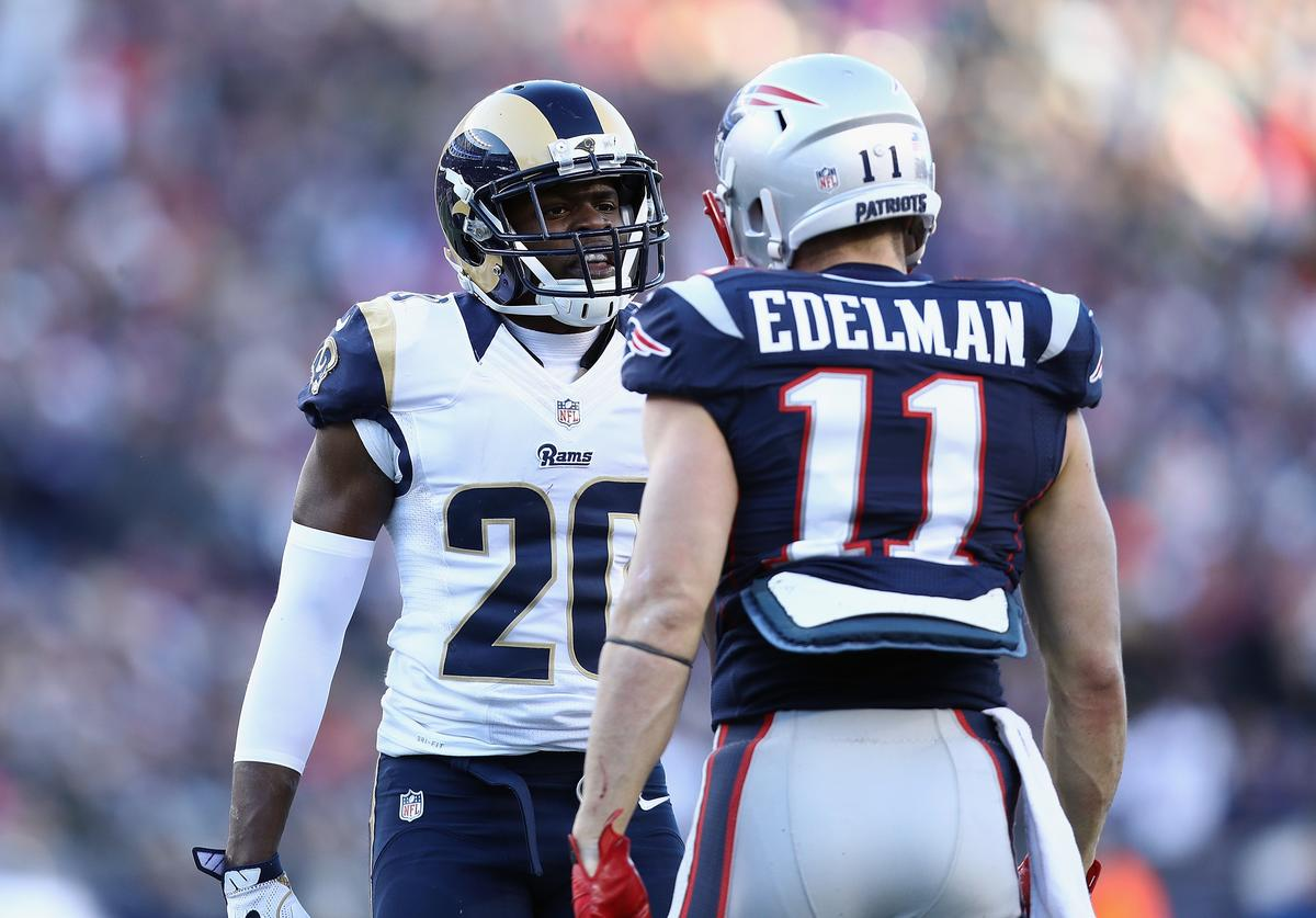 Lamarcus Joyner and Julian Edelman