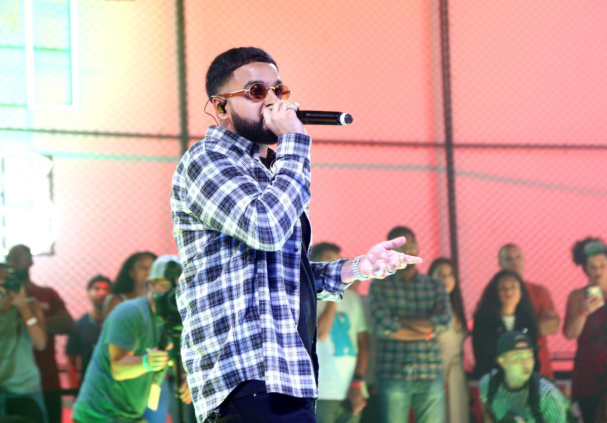 Nav performs during EA SPORTS NBA Live 19 at Goya Studios on August 24, 2018 in Los Angeles, California.