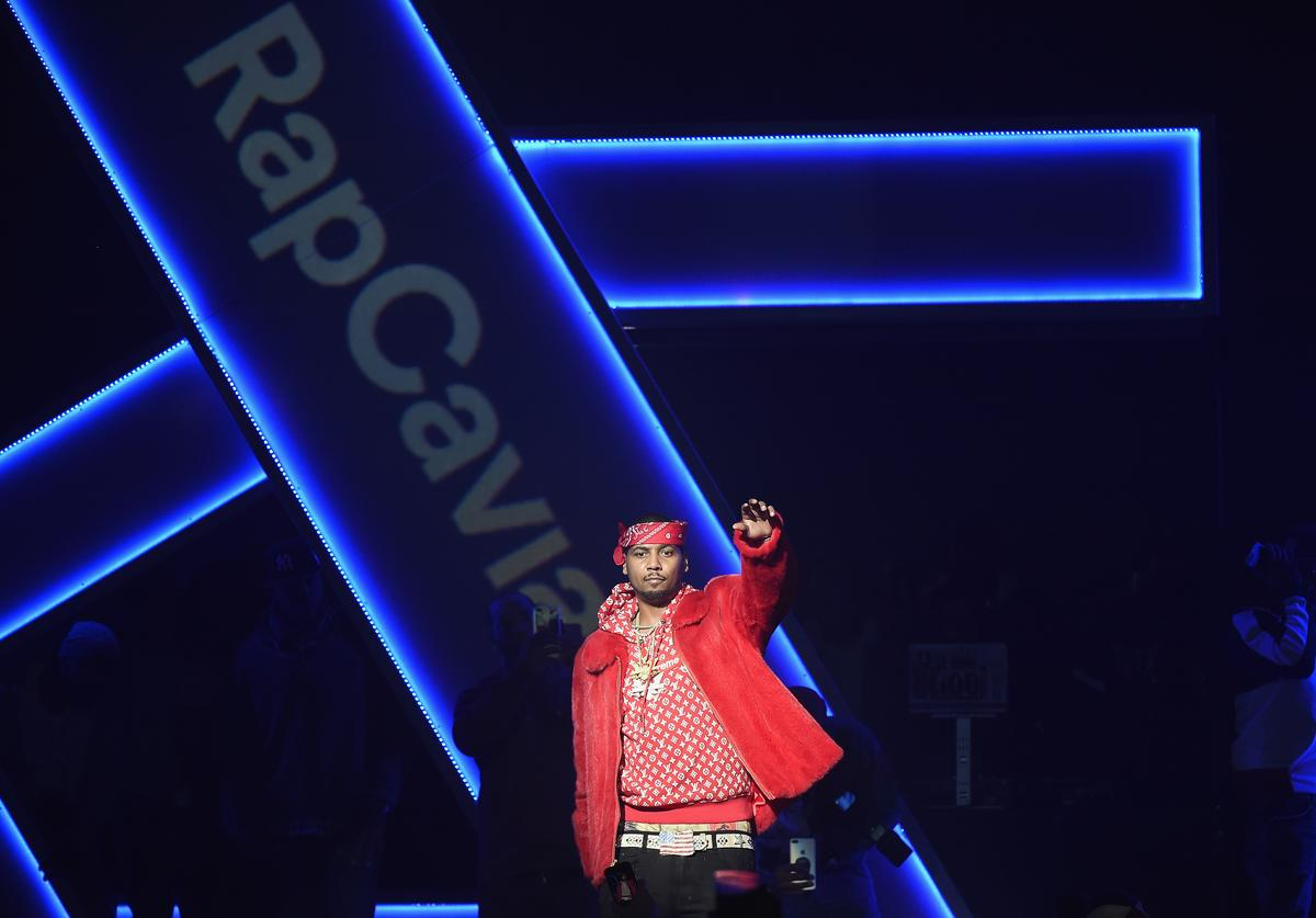 Juelz Santana performs at Spotify's RapCaviar Live in New York at Hammerstein Ballroom on November 21, 2017 in New York City.
