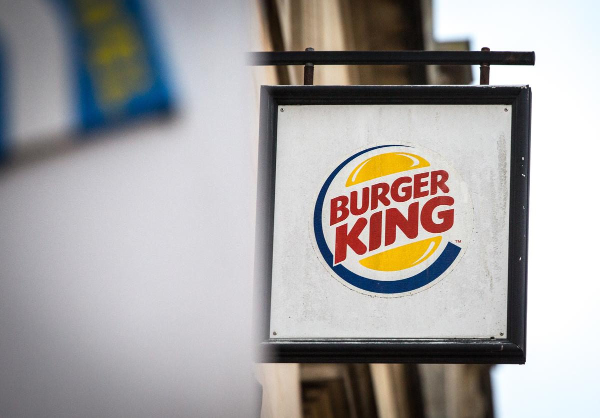 A branch of Burger King is pictured on February 19, 2018 in Bath, England. The number of takeaway restaurants has increased significantly in the last few years and this has raised concerns that this can lead to over-consumption in cheap, unhealthy high-fat nutrient-poor food and drink leading to higher body weight and greater risk of obesity.