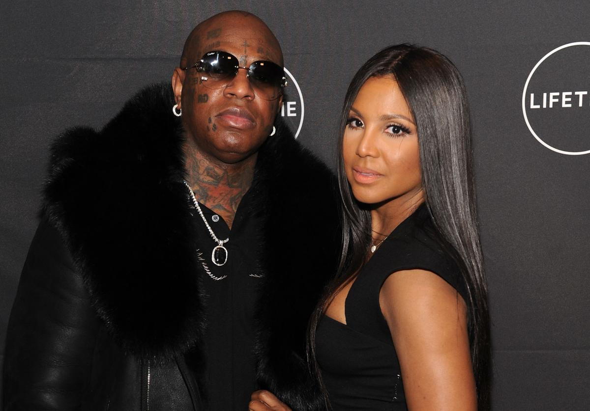 Birdman and Toni Braxton attends Lifetime's Film,'Faith Under Fire: The Antoinette Tuff Story' red carpet screening and premiere event at NeueHouse Madison Square In New York, NY on January 23, 2018.