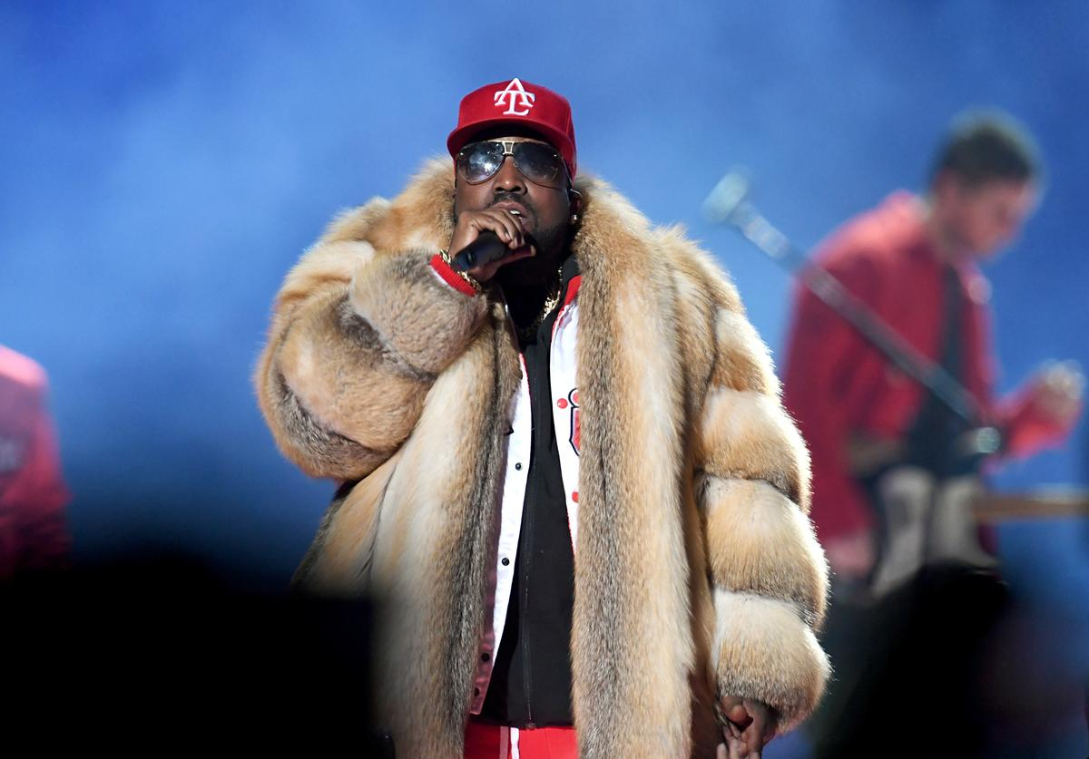 Big Boi performs during the Pepsi Super Bowl LIII Halftime Show at Mercedes-Benz Stadium on February 3, 2019 in Atlanta, Georgia