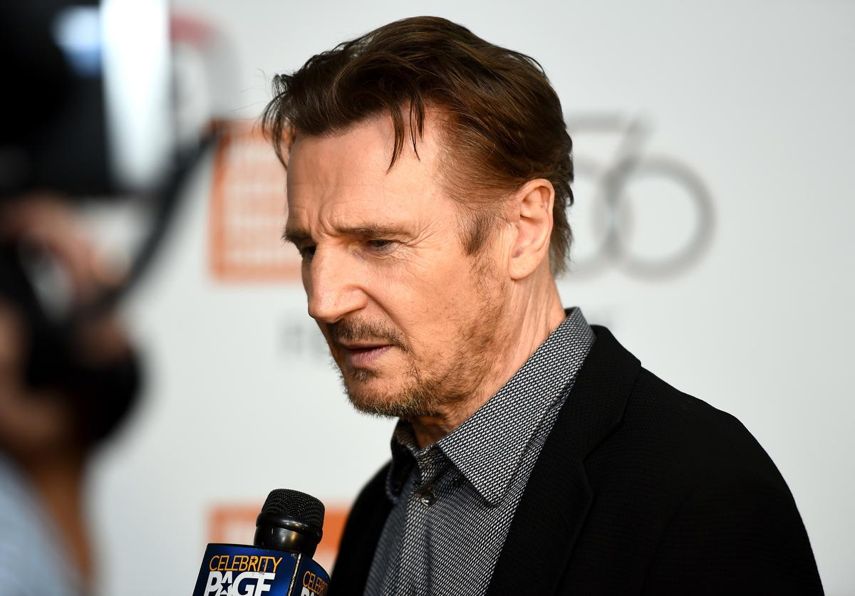 Liam Neeson attends the Netflix's 'The Ballad of Buster Scruggs' NYFF Red Carpet Premiere at Alice Tully Hall on October 4, 2018 in New York City