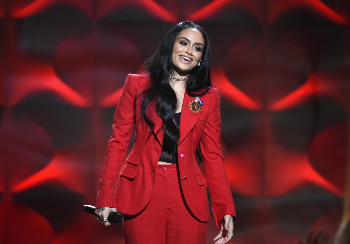 Honoree Kehlani performs onstage at Billboard Women In Music 2017 at The Ray Dolby Ballroom at Hollywood & Highland Center on November 30, 2017 in Hollywood, California.